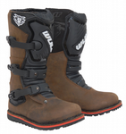 Wulfsport Kids Cub Trials Boots Brown